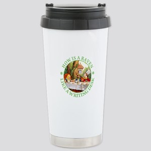 MAD HATTER'S RIDDLE Stainless Steel Travel Mug