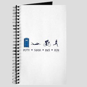 Women's Potty Swim Bike Run Journal
