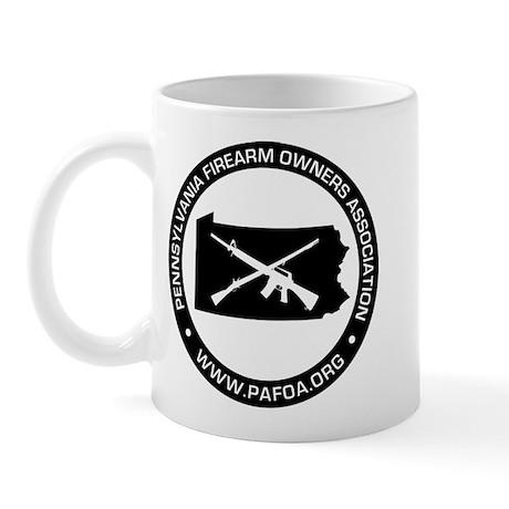 PAFOA Logo (Black) Mugs