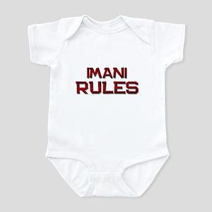 imani rules Infant Bodysuit