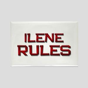 ilene rules Rectangle Magnet