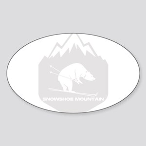 Snowshoe Mountain - Snowshoe - West Virg Sticker