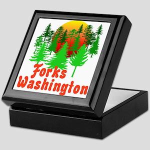 Forks Washington Twilight Keepsake Box