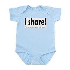 I Share! - Support Milk Banki Infant Creeper