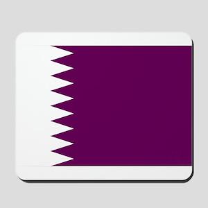 Qatar Flag Mousepad