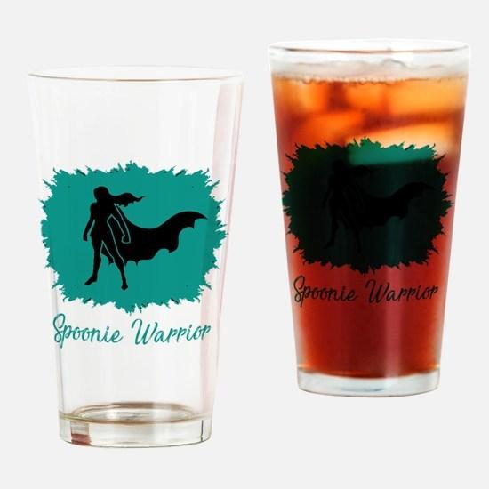 Unique Lupus warrior Drinking Glass