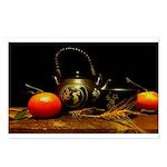 Tea & Oranges Postcards (package Of 8)