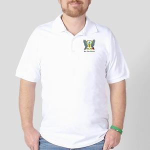 Sao Tomean Coat of Arms Seal Golf Shirt