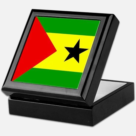 Sao Tomean Keepsake Box