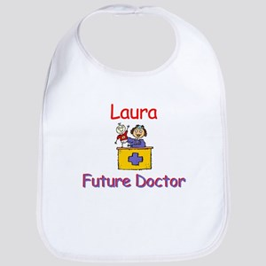 Laura - Future Doctor Bib