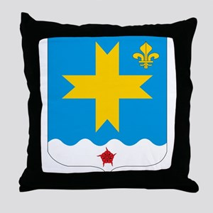 Saint Vincent Coat of Arms Throw Pillow