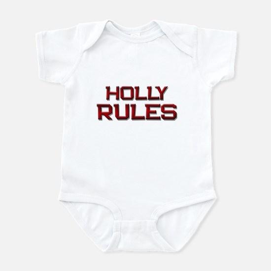 holly rules Infant Bodysuit