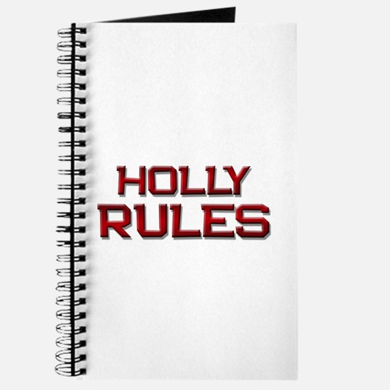 holly rules Journal