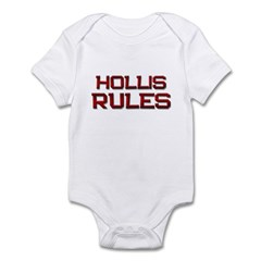 hollis rules Infant Bodysuit