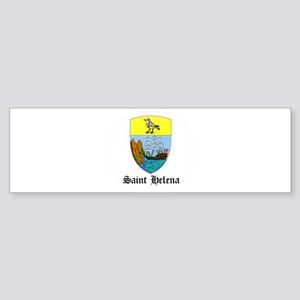 Saint Helenian Coat of Arms S Bumper Sticker