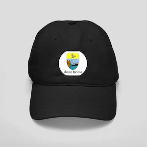 Saint Helenian Coat of Arms S Black Cap