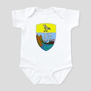 Saint Helena Coat of Arms Infant Bodysuit