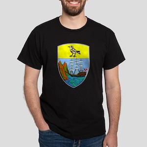 Saint Helena Coat of Arms Dark T-Shirt