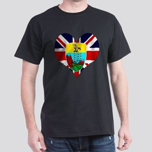 I Love Saint Helena Dark T-Shirt
