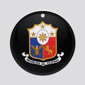 Coat of Arms of philippines Ornament (Round)