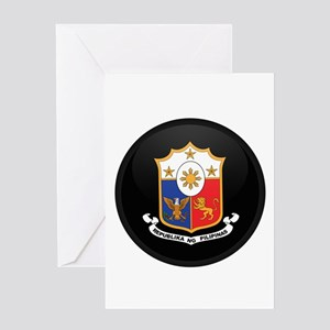 Coat of Arms of philippines Greeting Card