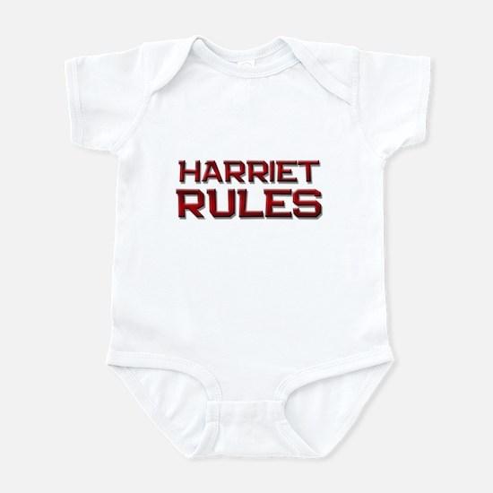 harriet rules Infant Bodysuit