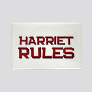 harriet rules Rectangle Magnet