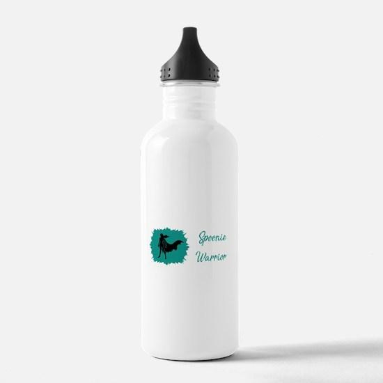 Spoonie Warrior Logo W Water Bottle