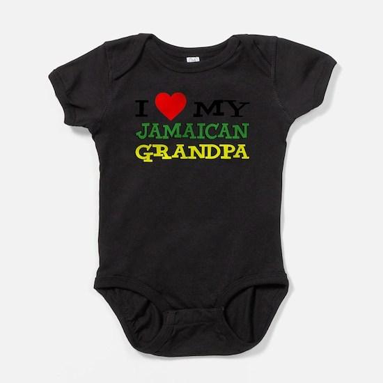 Love My Jamaican Grandpa Body Suit