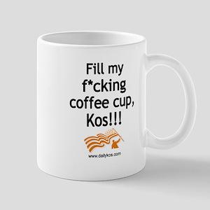 Fill My Cup, Kos! Mugs
