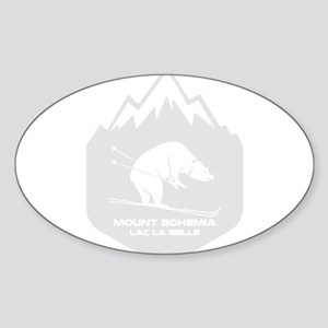 Mount Bohemia - Lac La Belle - Michigan Sticker