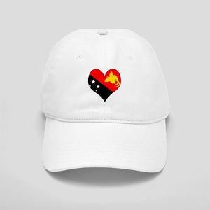 I Love Papua New Guinea Cap