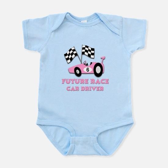 Future Race Car Drive #2 Infant Bodysuit