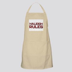 haleigh rules BBQ Apron