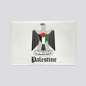 Palestinian Coat of Arms Seal Rectangle Magnet