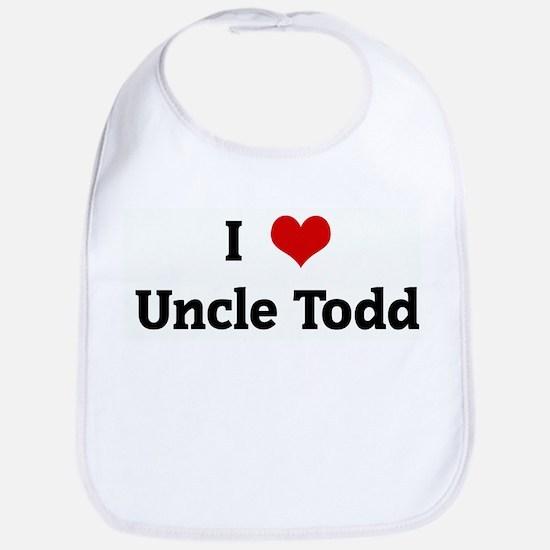 I Love Uncle Todd Bib