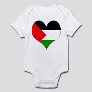 I Love Palestine Infant Bodysuit