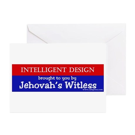 Jehovah's Witless Greeting Cards (Pk of 10)