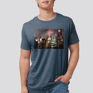 A Friend In Need Dogs Playing Poker T-Shirt