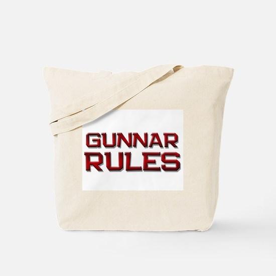 gunnar rules Tote Bag
