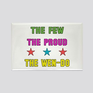 The Few The Proud Wen-Do Martial Rectangle Magnet