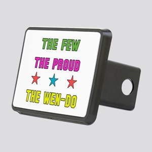 The Few The Proud Wen-Do M Rectangular Hitch Cover