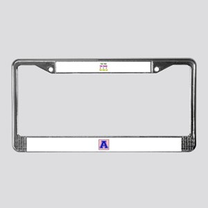 The Few The Proud Wen-Do Marti License Plate Frame
