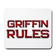 griffin rules Mousepad