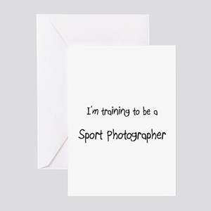 I'm training to be a Sport Photographer Greeting C