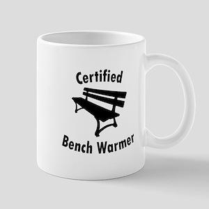 Certified Bench Warmer 1 Mugs