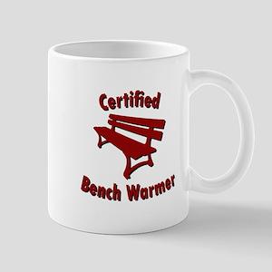 Certified Bench Warmer 2 Mugs