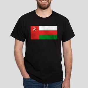 Oman Flag Dark T-Shirt
