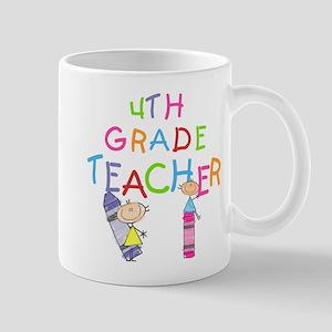 Crayons 4th Grade Mug
