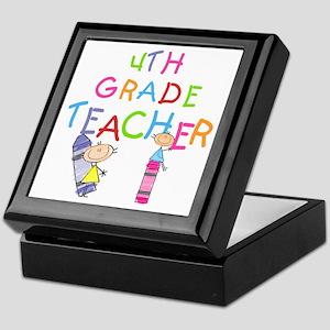 Crayons 4th Grade Keepsake Box